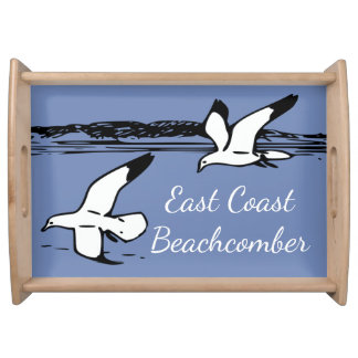Seagull Beach East Coast Beachcomber tray blue