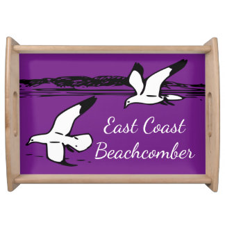 Seagull Beach East Coast Beachcomber tray purple