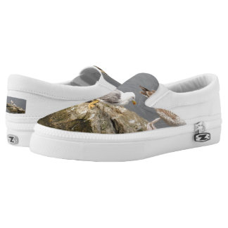 Seagull Custom Zipz Slip On Shoes,  Men & Women