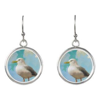Seagull Earings Earrings