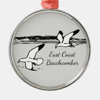 Seagull  East Coast Beachcomber Christmas ornament