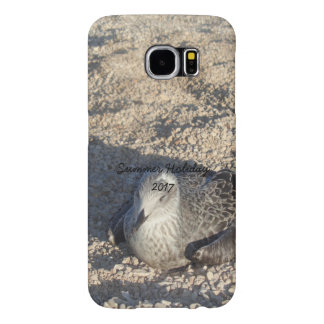 Seagull Enjoying The Sun Summer Photography Samsung Galaxy S6 Cases