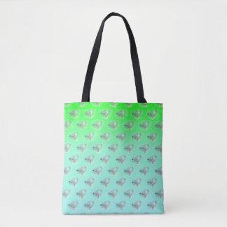 Seagull Green Tote Bag