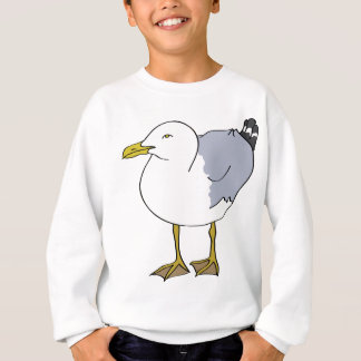 Seagull Illustration Sweatshirt