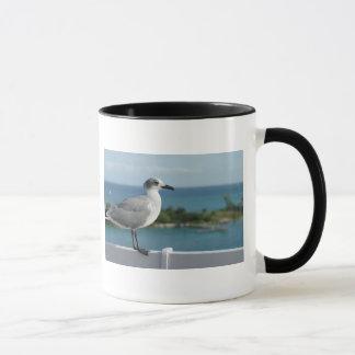 Seagull In Paradise Mug