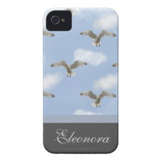 Seagull In The Sky Pattern Case-Mate iPhone 4 Case