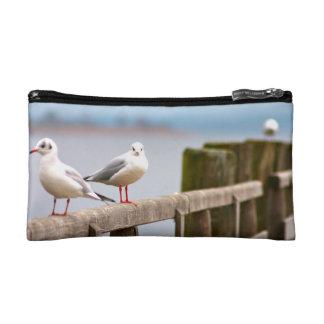seagull makeup bag