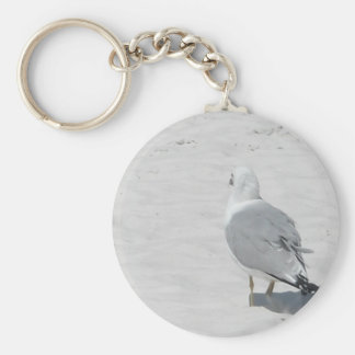 Seagull marching, different drummer! key ring