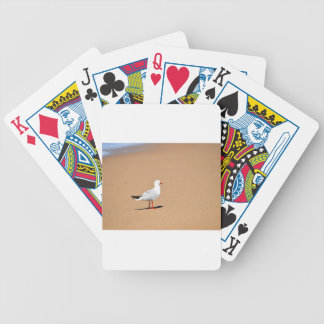 SEAGULL ON BEACH QUEENSLAND AUSTRALIA BICYCLE PLAYING CARDS