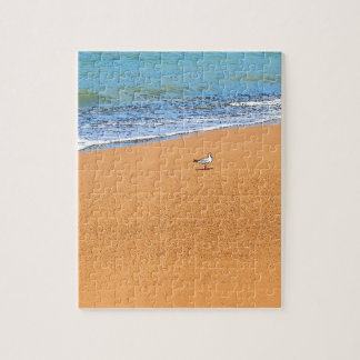 SEAGULL ON BEACH QUEENSLAND AUSTRALIA JIGSAW PUZZLE