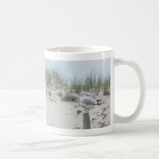 Seagull on Post 11 Oz Mug