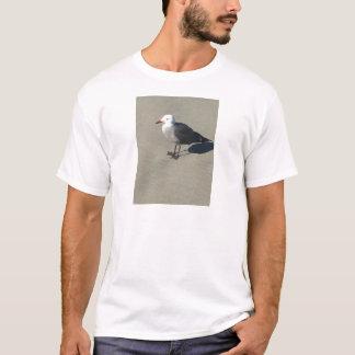 Seagull on Sandy Beach T-Shirt