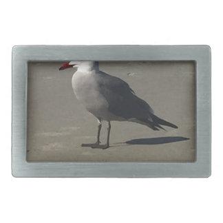 Seagull on the Beach Belt Buckles