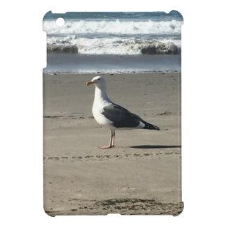Seagull on the Beach iPad Mini Covers