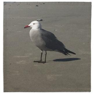 Seagull on the Beach Napkin