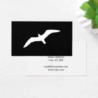 Seagull Shape Business Card