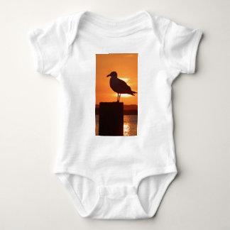 Seagull Sunset Baby Bodysuit