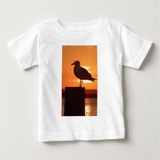 Seagull Sunset Baby T-Shirt