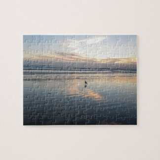 Seagull Sunset - Jigsaw Puzzle