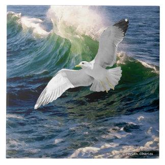 """Seagull"" Tile"