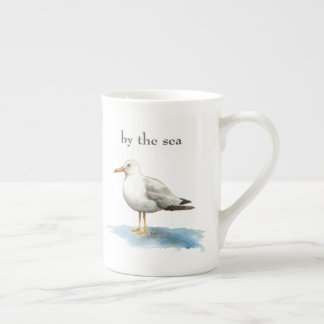 Seagull To Be by the Sea Tea Cup
