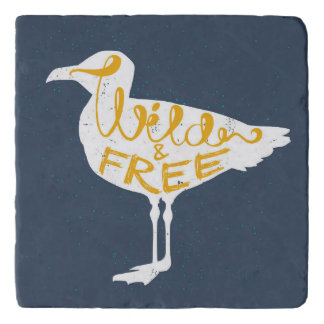 Seagull   Wild And Free Trivets