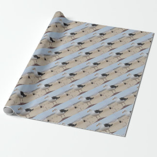 Seagull Wrapping Paper