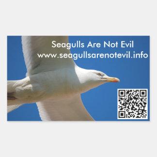 Seagulls Are Not Evil #1 Rectangular Sticker