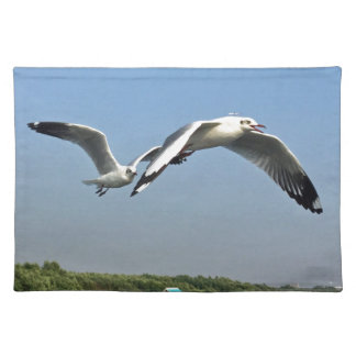 Seagulls in Flight Placemat