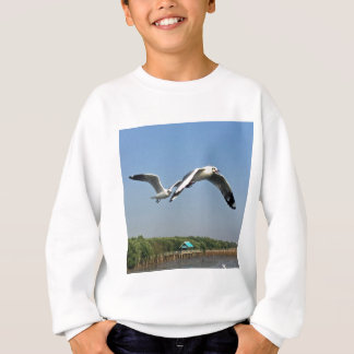 Seagulls in Flight Sweatshirt
