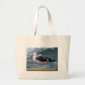 Seagulls On The Shore Tote Bag