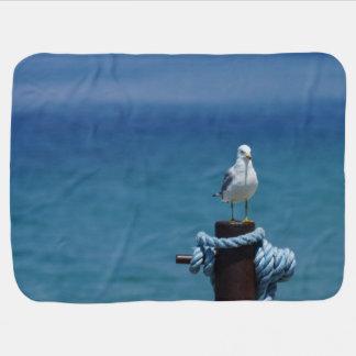 Seagulls Paradise At Mackinac Baby Blanket