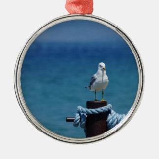 Seagulls Paradise At Mackinac Metal Ornament