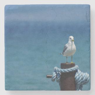 Seagulls Paradise At Mackinac Stone Coaster
