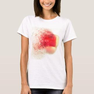 "Seaham Seaglass ""little red bullet"" exploding T-Shirt"