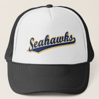 Seahawks in Blue and Gold Trucker Hat