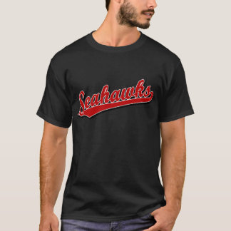 Seahawks in Red T-Shirt