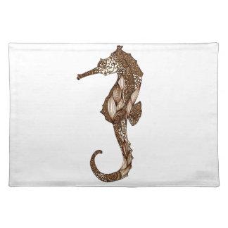 Seahorse 3 placemat