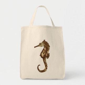 Seahorse 3 tote bag