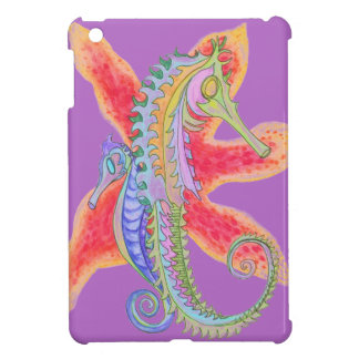 seahorse and starfish i-pad mini case iPad mini case