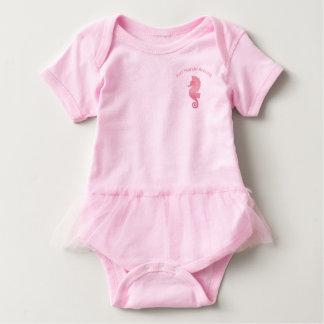 Seahorse Artwork Baby Bodysuit
