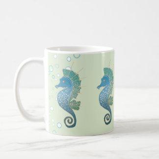 Seahorse Artwork Coffee Mug