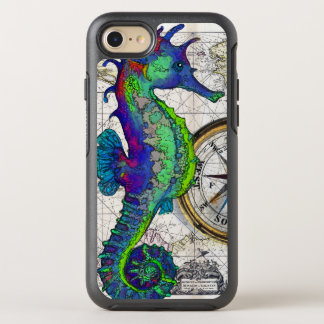 Seahorse Compass OtterBox Symmetry iPhone 8/7 Case