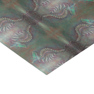 seahorse dragon tissue paper