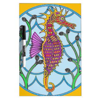 Seahorse Dry Erase Whiteboard