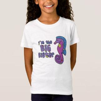 Seahorse I'm the Big Sister T Shirt