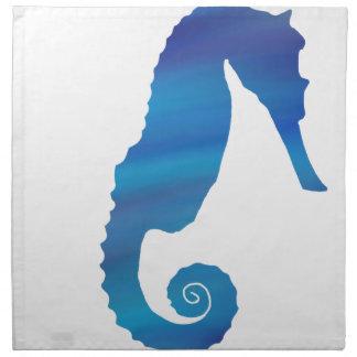 Seahorse in the Ocean Napkin
