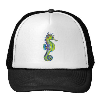 Seahorse Inky Lime Cap