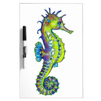 Seahorse Inky Lime Dry Erase Board