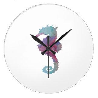 Seahorse Large Clock